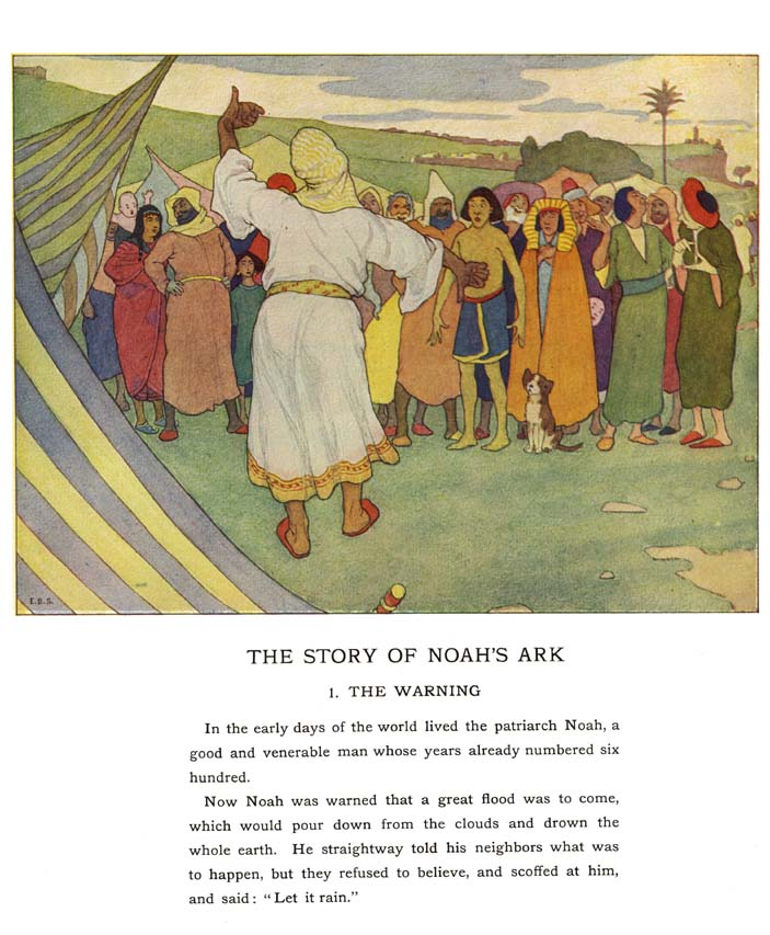 "the story of noahs ark Stories ""jehovah keeps his promises"" (march 2010 friend) a retelling of the story of noah and the ark includes information on size of the ark ""noah"" (june 1994 friend."