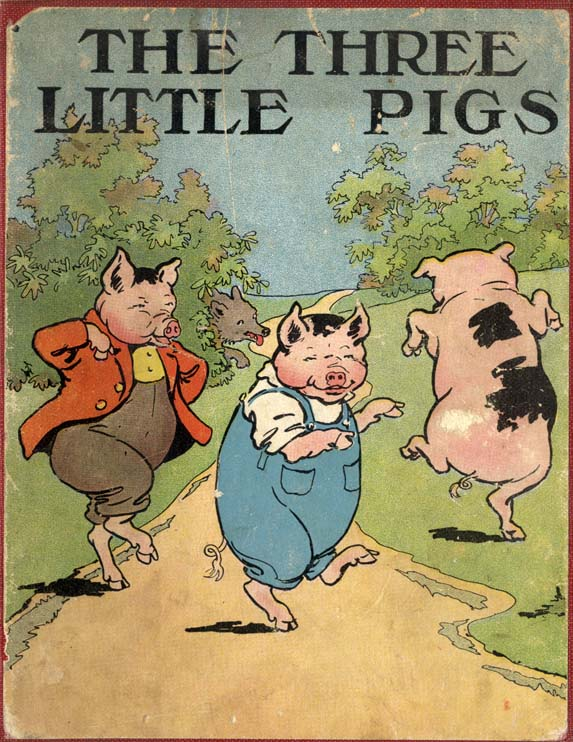 Three little pigs сценарий