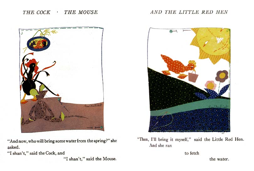 The Cock, the Mouse and the Little Red Hen / 11_cmh